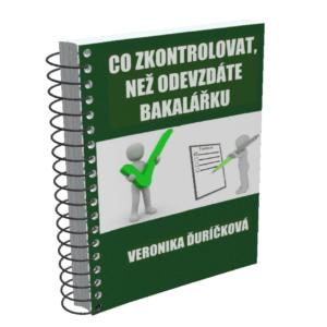 Obálka e-booku Bakalářka check-list