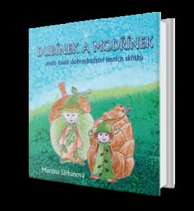 obálka dětské knihy Dubínek a Modřínek